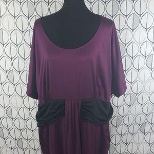 Lane Bryant Purple Sheath Party Dress NWT 26/28